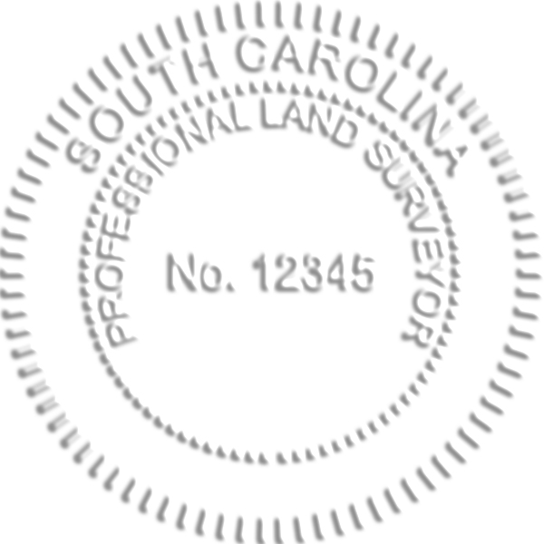 South Carolina Land Surveyor Seal
