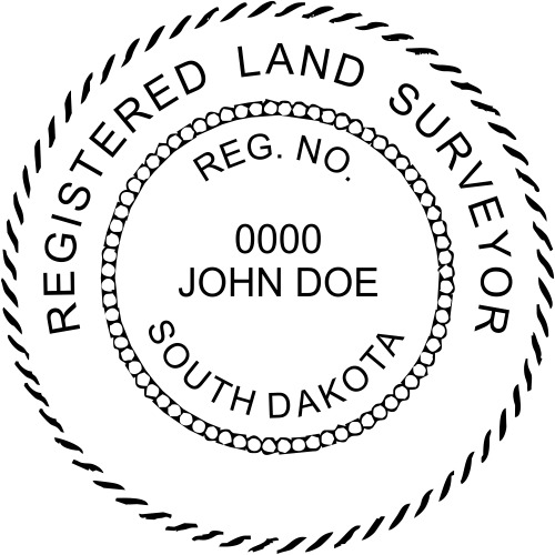 State of South Dakota Land Surveyor