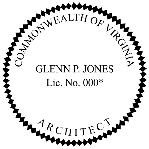 State of Virginia Architect