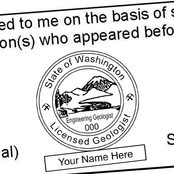 State of Washington Engineering Geologist