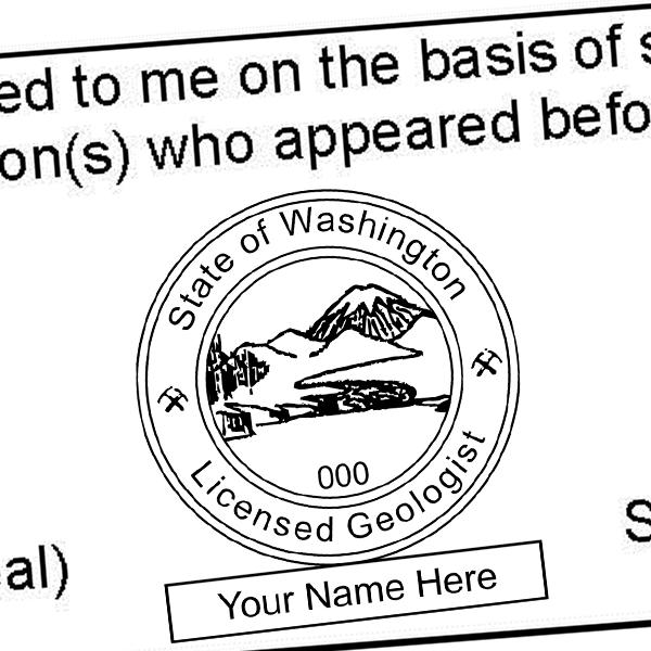 State of Washington Geologist