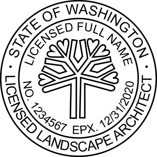 State of Washington Landscape Architect