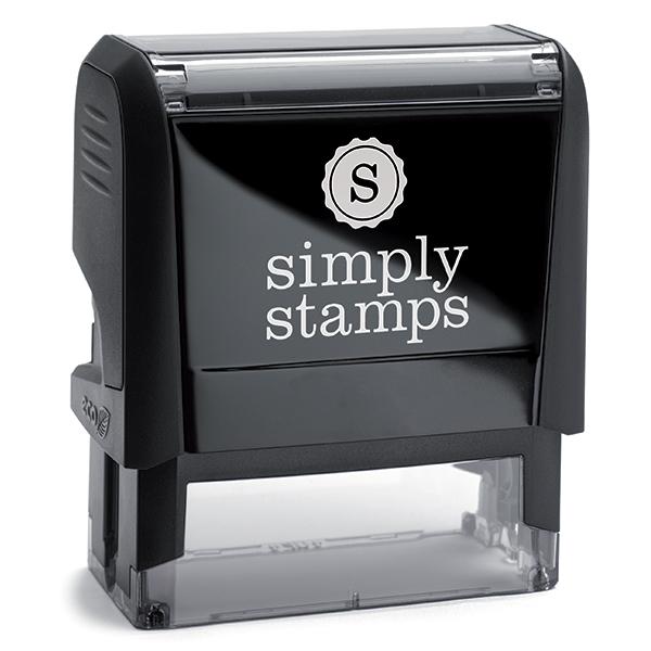 Trodat 4912 Black Ink Self Inking Stamp