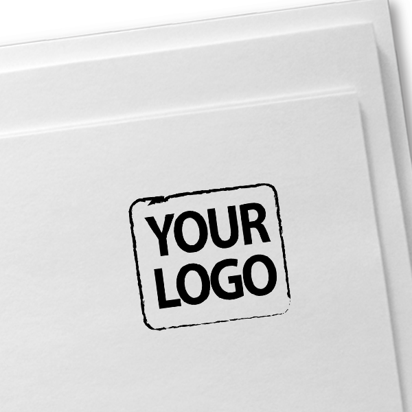 Medium Custom Logo Stamp