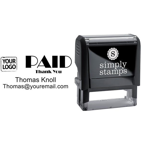 PAID Custom Logo Stamp - Stamp Body and Design