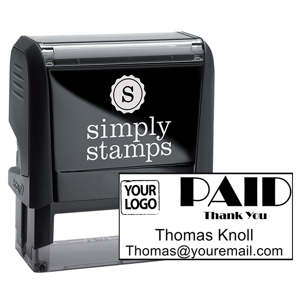 PAID Custom Logo Stamp