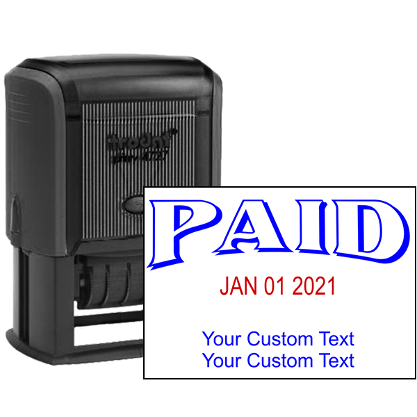Paid Custom Date Stamp