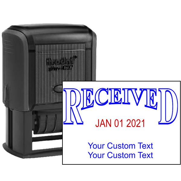 Received Custom Date Stamp