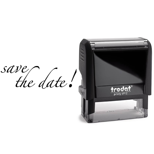 Save the Date Stamp Body and Design