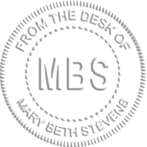 Custom Initial Embosser