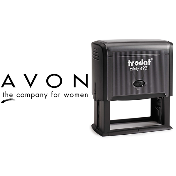 Avon Consultant Logo Stamp Body and Design