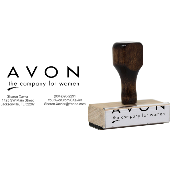 Avon Catalog Stamp Style 3 Body and Design