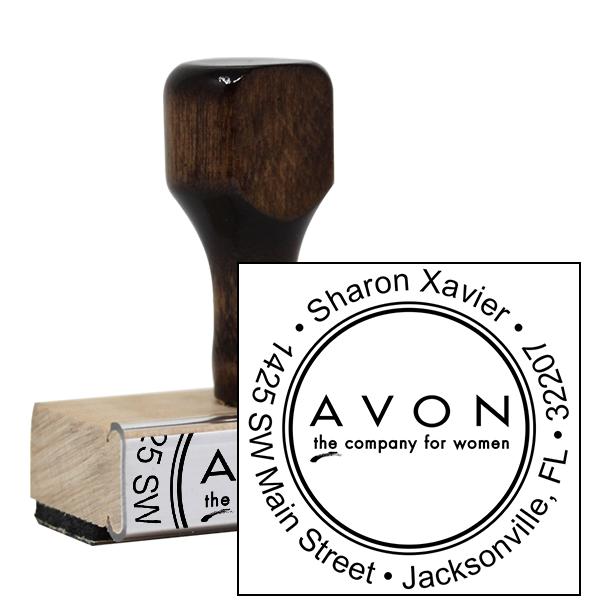 Avon Catalog Stamp Style 4