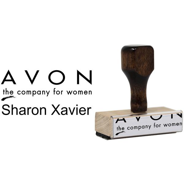 Avon Catalog Stamp Style 8 Body and Design