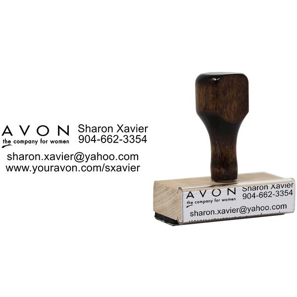 Avon Catalog Stamp Style 9 Body and Design