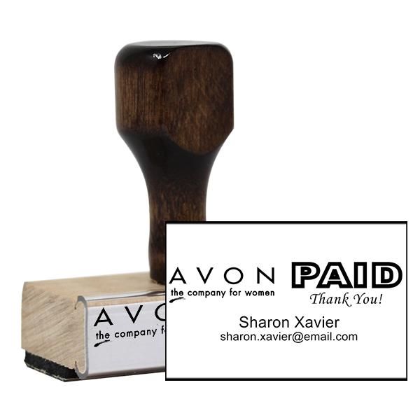 Paid Avon Catalog Stamp Style 12