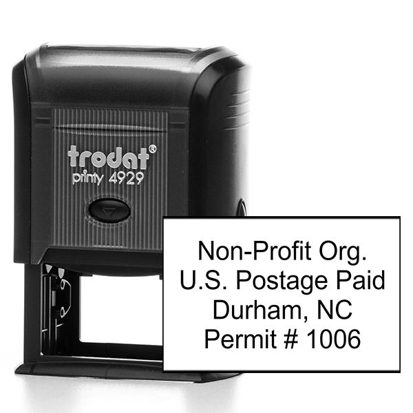 Non-Profit Org Postage Paid Permit Stamp