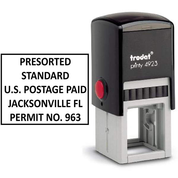 Postage Paid Permit | Presorted Standard Body and Design