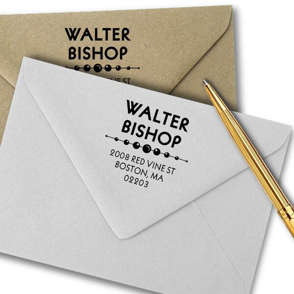Vista Address Stamp Imprint Example