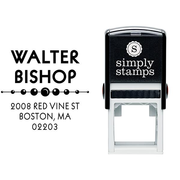 Vista Address Stamp Body and Design