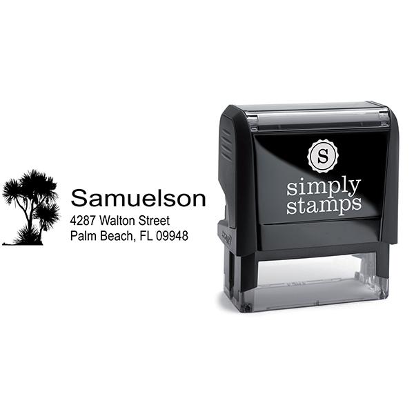 Walton Trees Address Stamp Body and Design