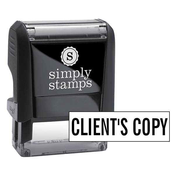 Client's Copy Stock Stamp