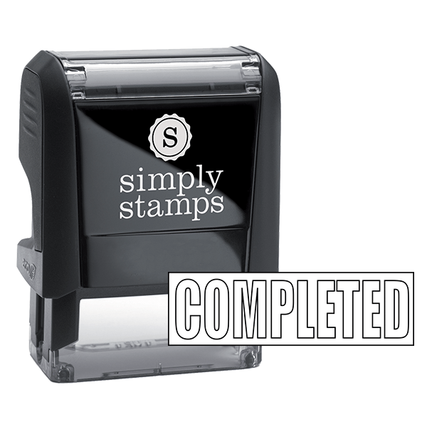 Completed Stock Stamp