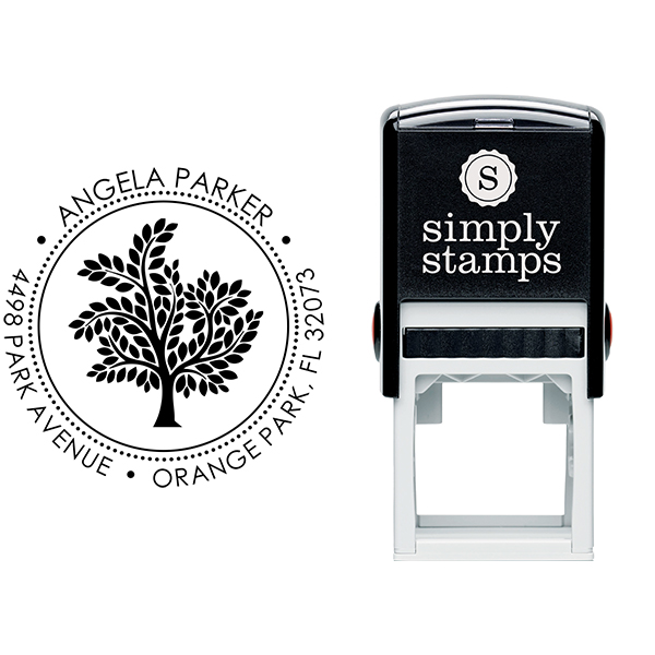 Tree Return Address Stamp Body and Design