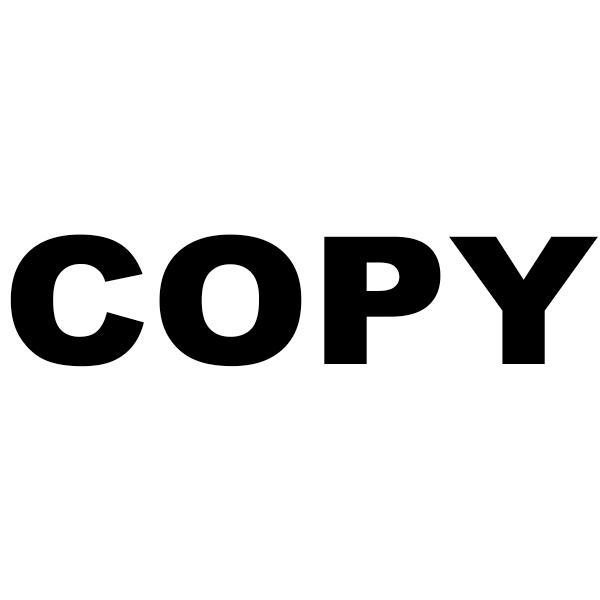 COPY Bold Stock Stamp Imprint