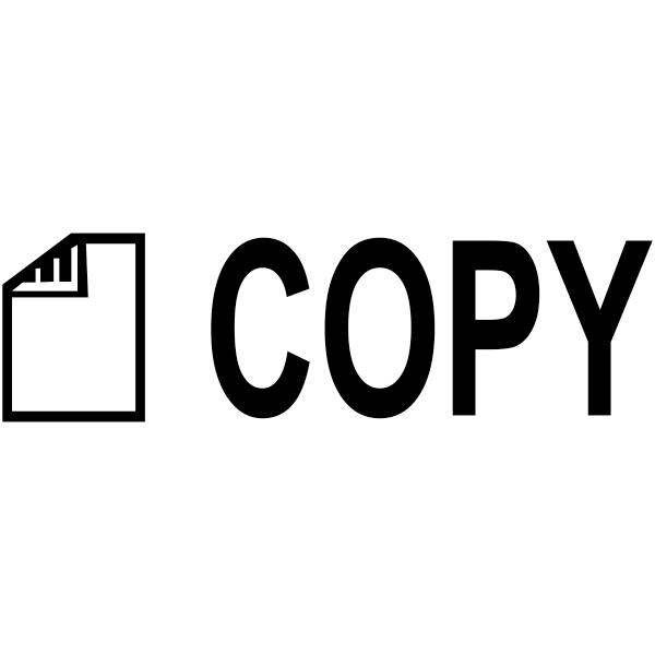 COPY DOCUMENT Stock Stamp Imprint