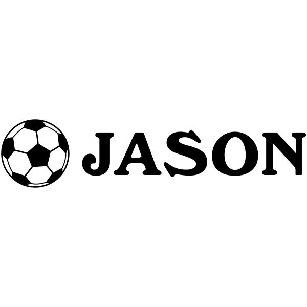 Soccer Ball Name Stamp