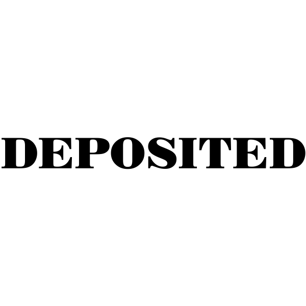 Mobile Deposited rubber stamp