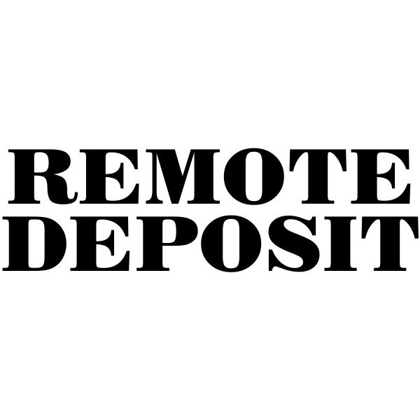 Mobile check deposit stamp