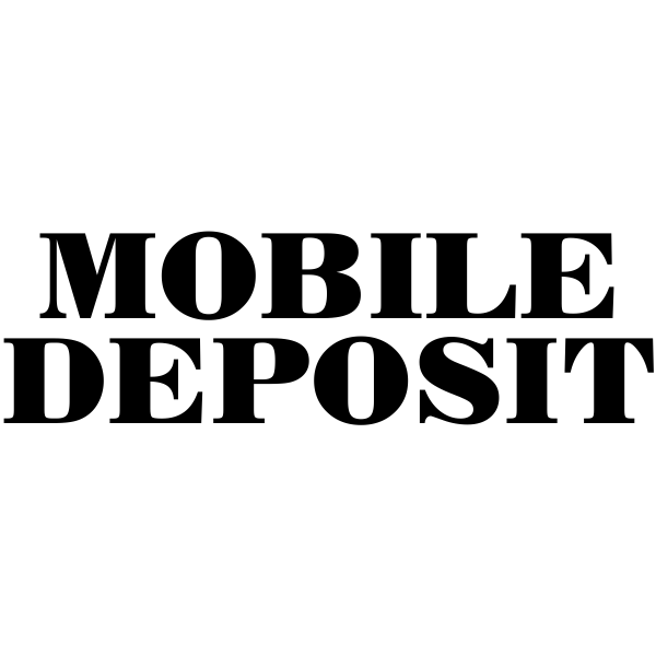 Mobile check deposit bank stamp design