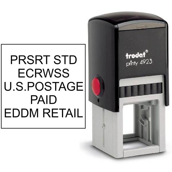 EDDM U.S. Postage Presorted ECRWSS Stock Stamp Body and Design