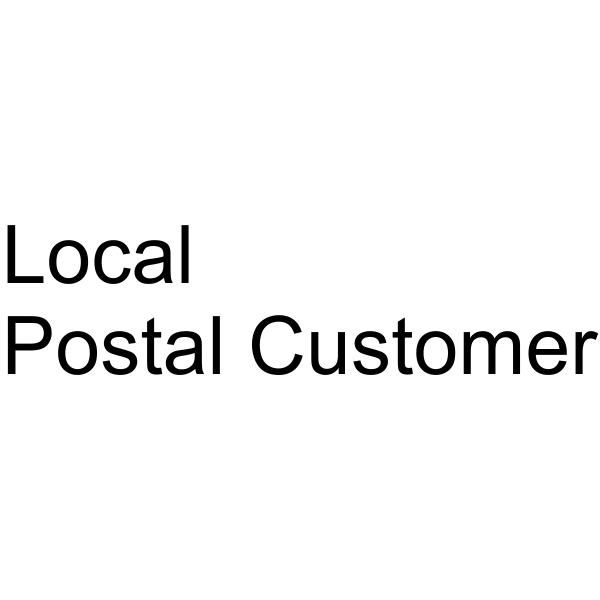Postage Paid mail office stamp