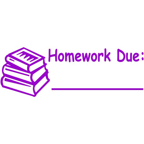 Homework Due Teacher Stamp