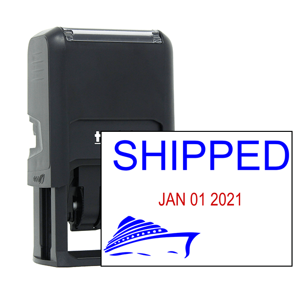 Shipped Ship Dater Stamp