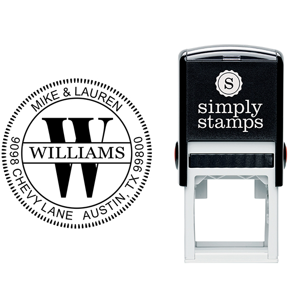 Williams Monogram Embosser Body and Design