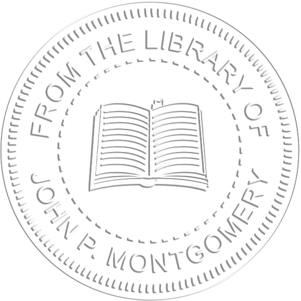From the Library Book Embosser Imprint Example