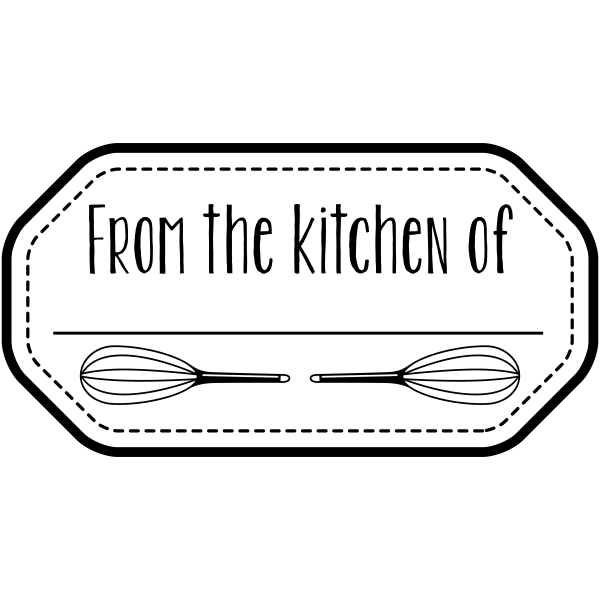 From the Kitchen Whisks Stamp