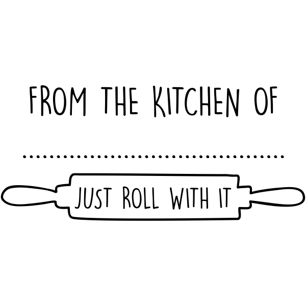 From the Kitchen Rolling Pin Stamper