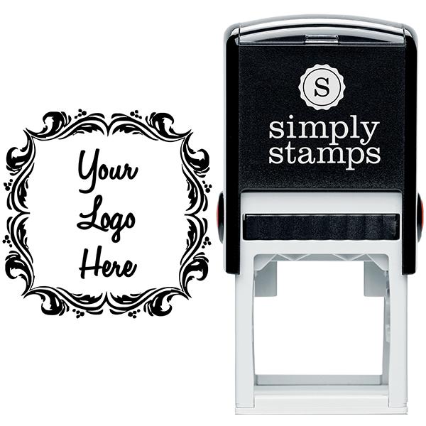 Deco Border Logo Stamp  Body and Design