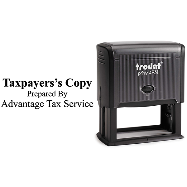 Tax Copy Stamp Body and Design