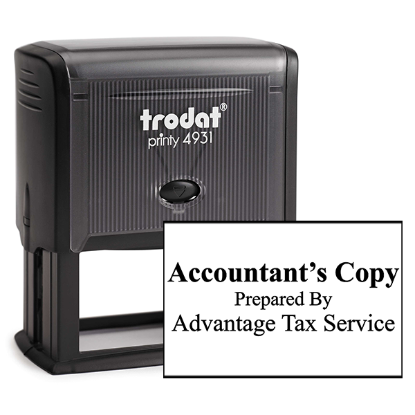 Account Copy Stamp Bold