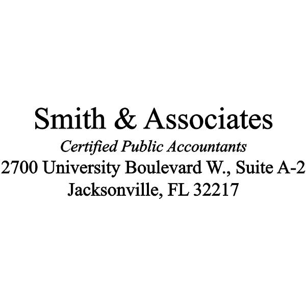 Company Name, Certifications, Address, City, St. zip