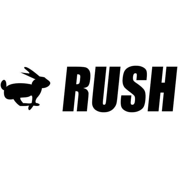 RUSH Bunny Stock Stamp Imprint
