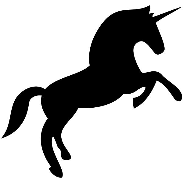 Rearing Unicorn Stamp