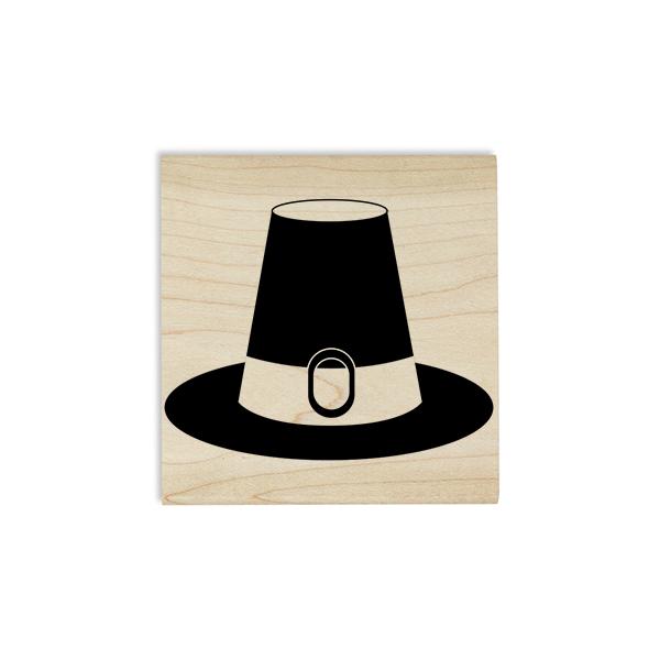 Pilgrim's Hat Craft Stamp Body and Design