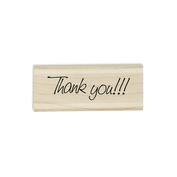 Thank you!!! Craft Stamp Body and Design